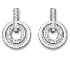 Swarovski-Circle-Mini-Pierced-Earrings-White-Rhodium-Plating-5007750-W600